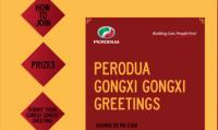 Perodua Gongxi Greetings