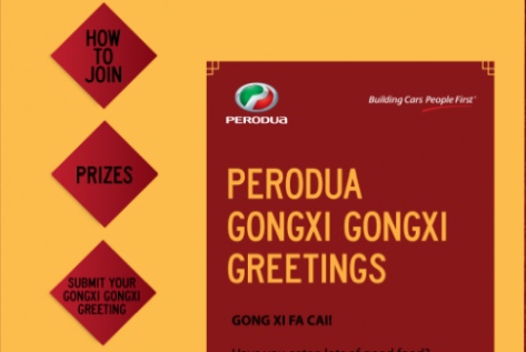 Perodua Gongxi Greetings
